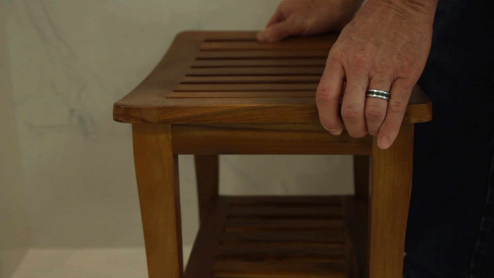 a shower seat is a must in a walk in shower. Check out our portable and built in shower seats