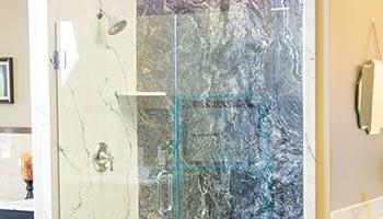 glass shower doors roy